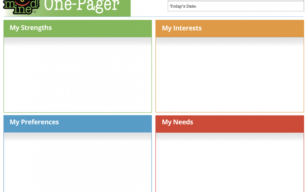 One-Pager Template