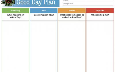 Good Day Plan Template