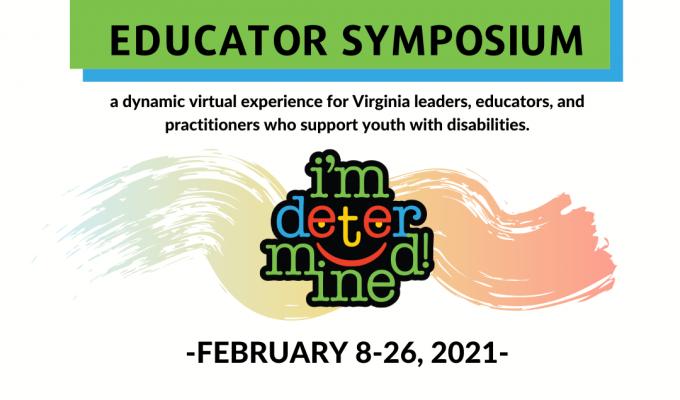 Flyer for 2021 Educator Symposium