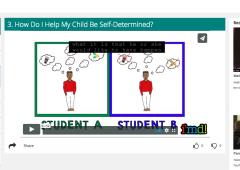 Screenshot of the Parent Path to Success module
